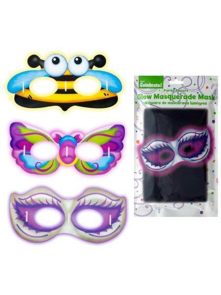 Glow Masks (Available in a pack of 24)