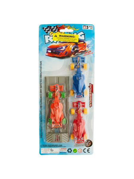 Race Car Launch Set (Available in a pack of 12)