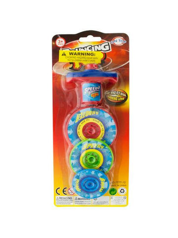 3 Layer Bouncing Top Spinner Toy (Available in a pack of 12)