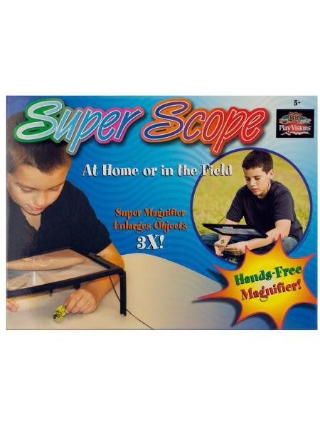 Super Scope Hands-Free Magnifier (Available in a pack of 3)