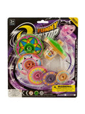 Super Spinning Top Toy with Extra Colorful Discs (Available in a pack of 24)