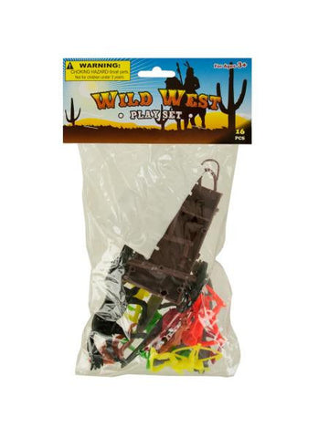Wild West Play Set (Available in a pack of 24)