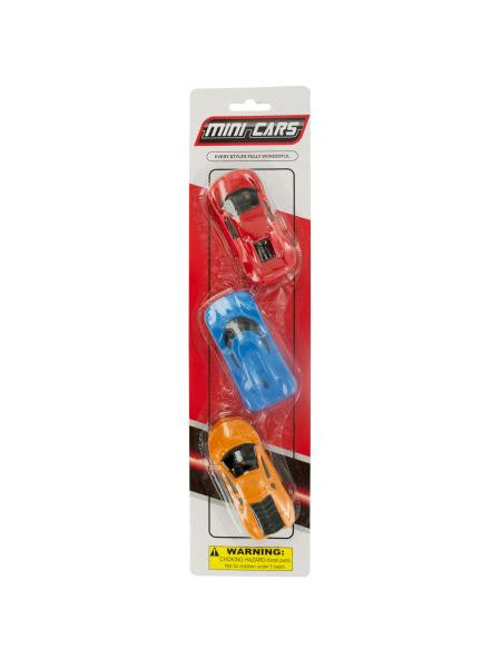 Mini Race Cars Set (Available in a pack of 24)