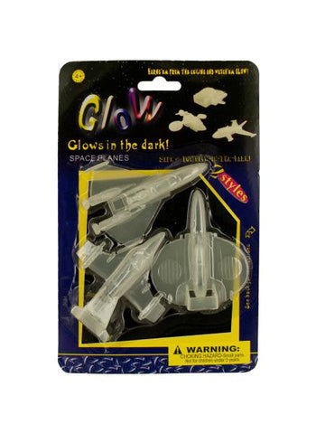Glow In The Dark Space Planes (Available in a pack of 24)