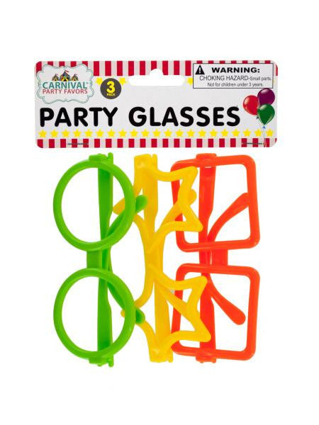 Party Glasses (Available in a pack of 24)