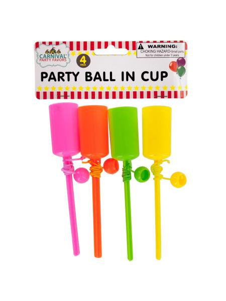 Party Ball In Cup Set (Available in a pack of 24)