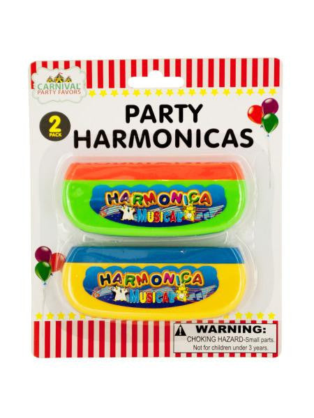 Party Harmonicas Set (Available in a pack of 24)
