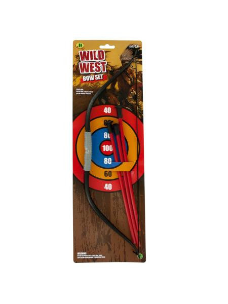 Small Bow & Arrow Play Set (Available in a pack of 12)