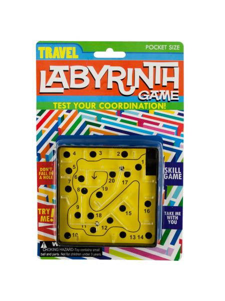 Travel Labyrinth Game (Available in a pack of 24)