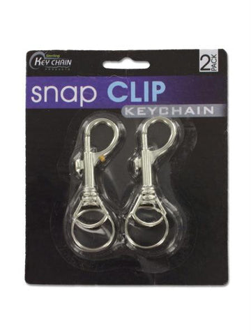 Snap Clip Key Chains (Available in a pack of 12)