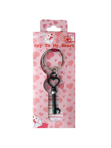 Key to My Heart Keychain (Available in a pack of 18)
