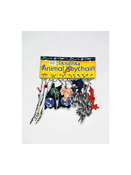 Sandbag Animal Key Chains (Available in a pack of 1)