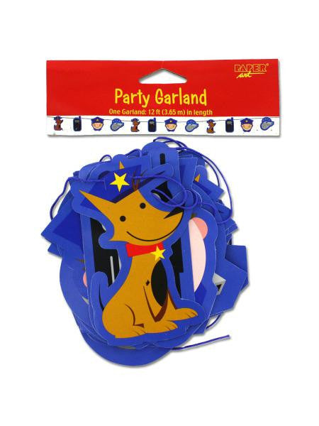 Rescue Pals party garland, 12 feet (Available in a pack of 24)