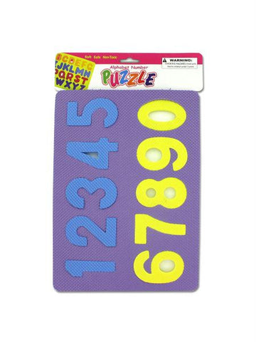 Alphabet & Number Foam Puzzle (Available in a pack of 24)