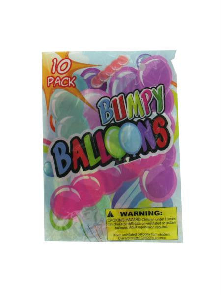 Giant Bumpy Balloons (Available in a pack of 24)