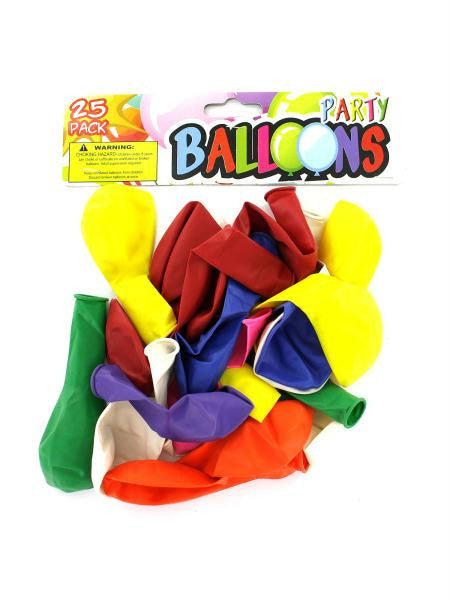 Party Balloons (Available in a pack of 24)