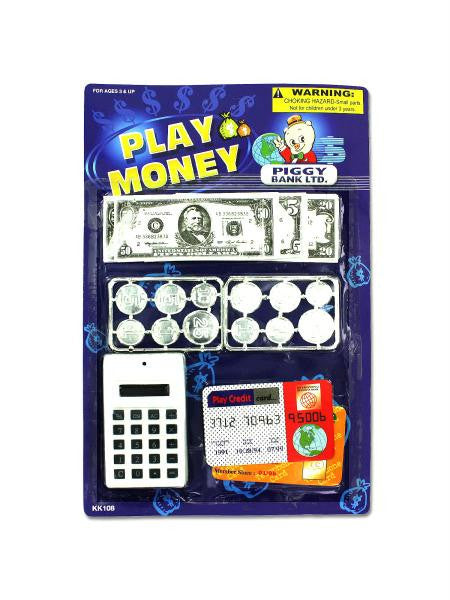 Play Money with Counter Toy Set (Available in a pack of 24)