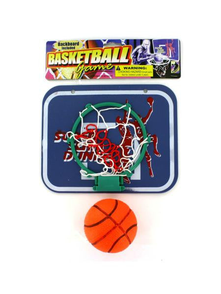 Basketball Game with Backboard (Available in a pack of 24)