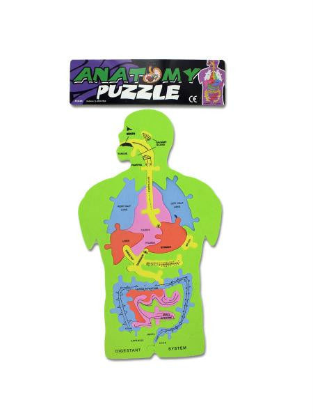 Foam Anatomy Puzzle (Available in a pack of 24)