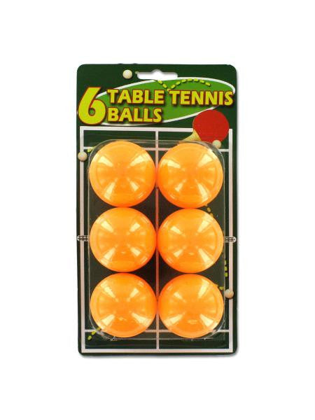 Orange Table Tennis Balls (Available in a pack of 24)