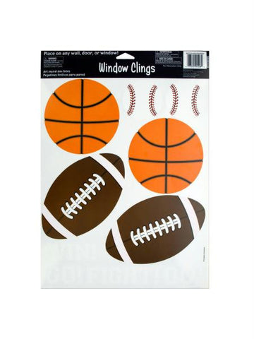 Sport Window Clings (Available in a pack of 24)