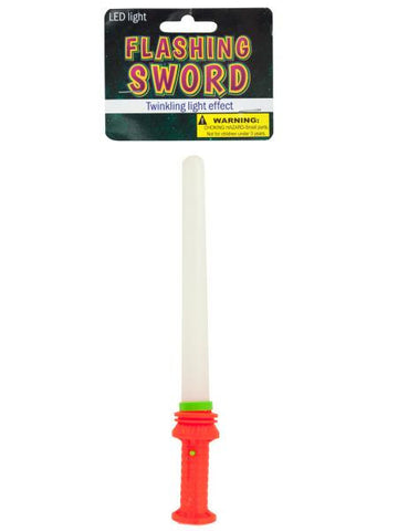 Flashing LED Toy Space Sword (Available in a pack of 12)