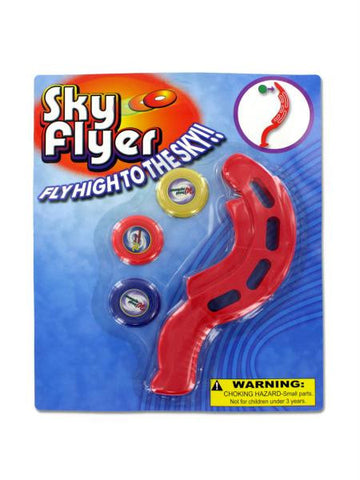 Sky High Disk Flyer (Available in a pack of 12)
