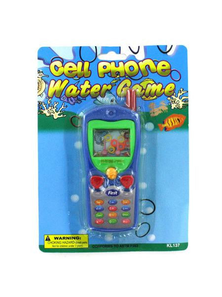 Cell Phone Water Game (Available in a pack of 24)