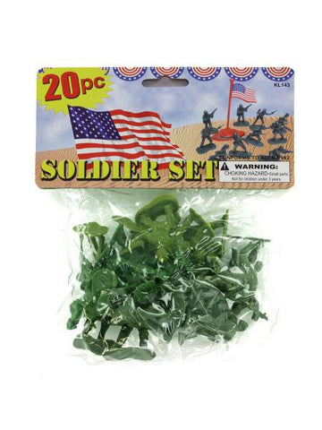 Plastic Soldiers Play Set (Available in a pack of 24)