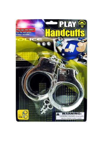Police Play Plastic Handcuffs (Available in a pack of 24)