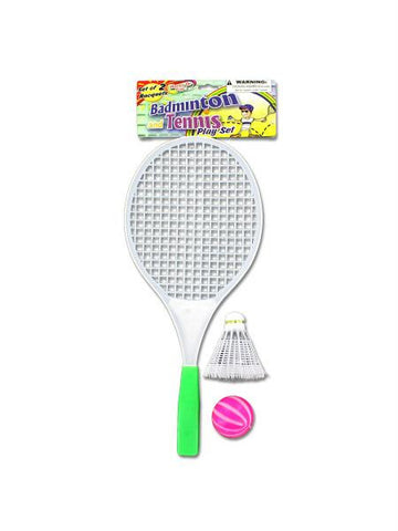 Badminton & Tennis Play Set (Available in a pack of 24)