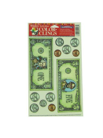 Money window clings (Available in a pack of 24)