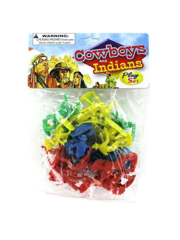 Cowboys and Indians Play Set (Available in a pack of 24)