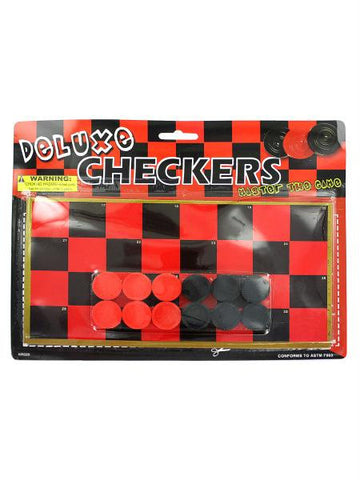 Toy Checkers Game Set (Available in a pack of 36)