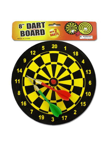Dart Board with Darts (Available in a pack of 12)
