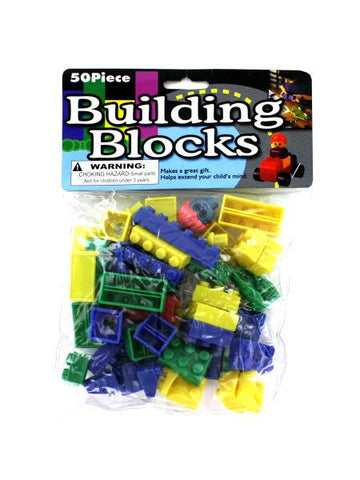 Building Block Set (Available in a pack of 24)