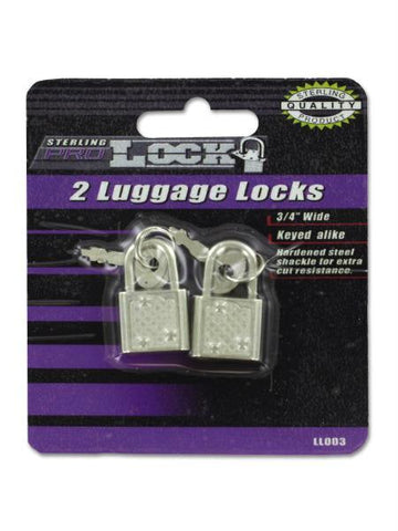 Luggage Locks with Keys (Available in a pack of 24)