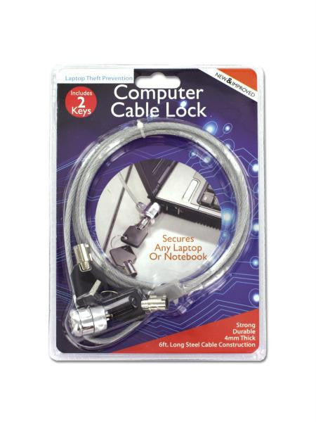 Steel Computer Cable Lock (Available in a pack of 4)