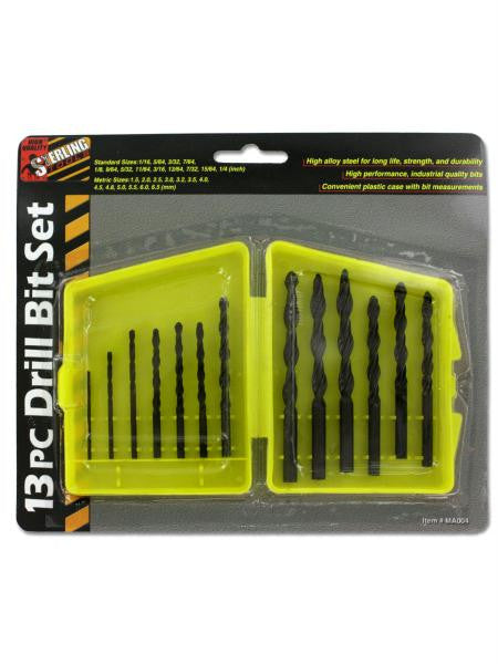 Drill bit set with bits (Available in a pack of 24)