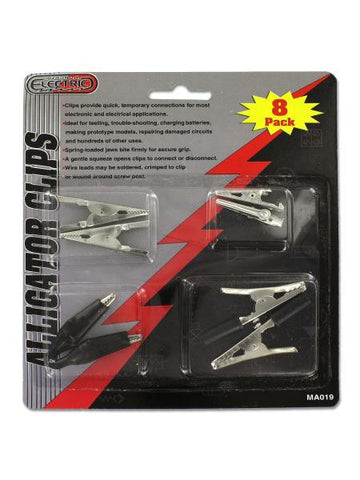 Alligator Clips (Available in a pack of 24)