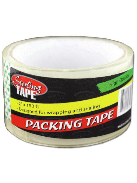 Clear Packing Tape (Available in a pack of 18)