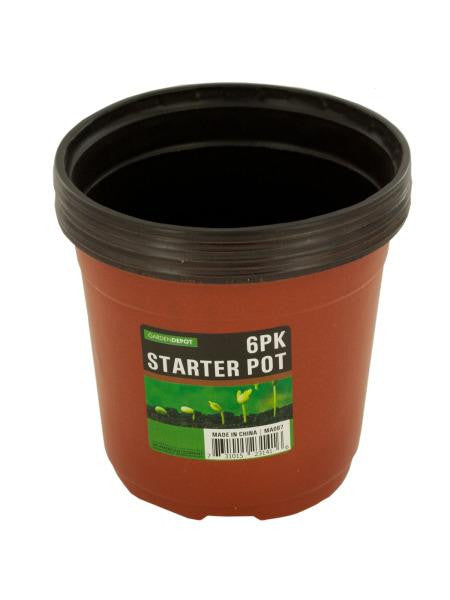 Gardening Starter Pot Set (Available in a pack of 12)
