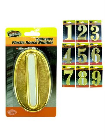 Adhesive Plastic House Numbers (Available in a pack of 15)