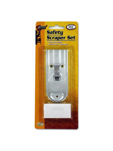 Safety Scraper Set with Extra Blades (Available in a pack of 24)