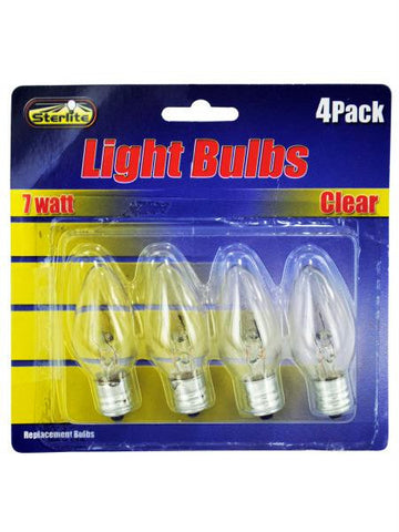 7 Watt Light Bulbs (Available in a pack of 24)