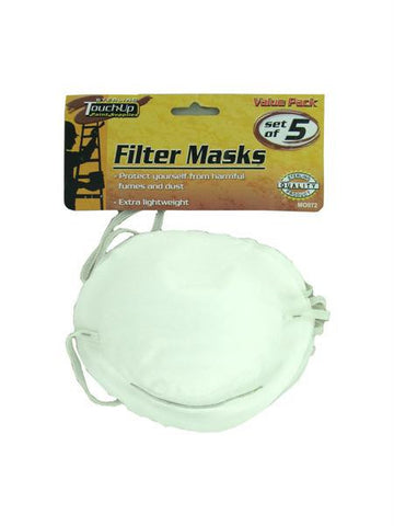 Disposable Filter Masks (Available in a pack of 24)