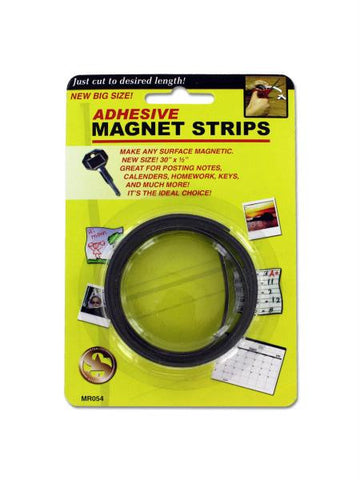 Adhesive Magnet Strips (Available in a pack of 24)