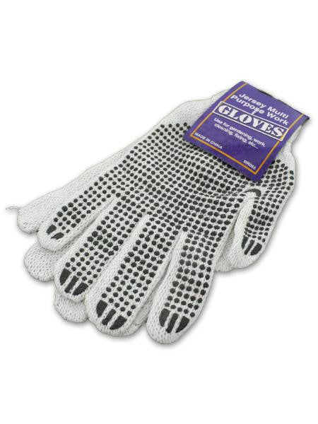 Multi-Purpose Jersey Work Gloves (Available in a pack of 24)