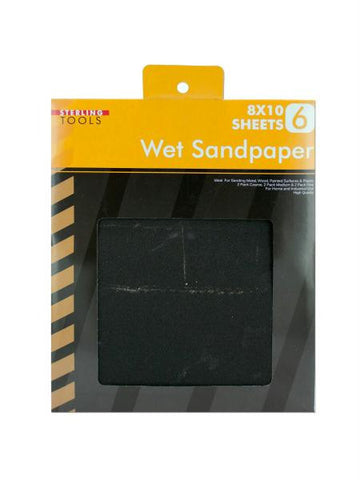 Wet Sandpaper Set (Available in a pack of 25)