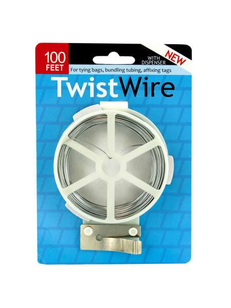 Twist Wire with Dispenser (Available in a pack of 24)